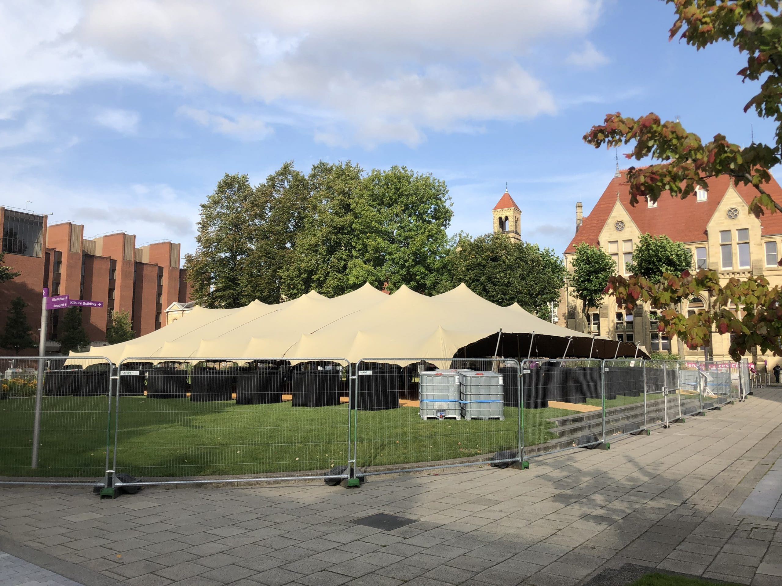manchester marquee hire
