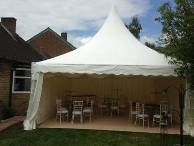 6m pagoda marquee