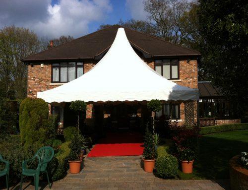 Knutsford wedding marquee venue