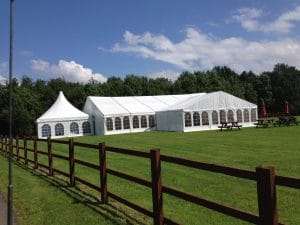 Charity Event Marquee