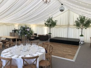 marquee fields for hire