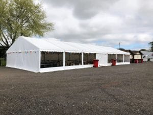 Oulton Park marquees