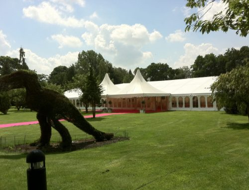 Retirement Party Marquee in Peover